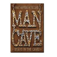 Desperate Enterprises Man Cave Ice Box Magnet