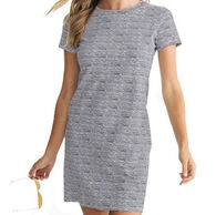 Southern Tide Women's Amelia Performance T-Shirt Short-Sleeve Dress