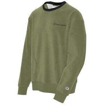 Champion Mens Urban Explorer Fleece Crew Sweatshirt