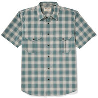 Filson Men's Feather Cloth Short-Sleeve Shirt