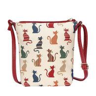 Signare Women's Cheeky Cat Sling Bag Purse Crossbody Handbag