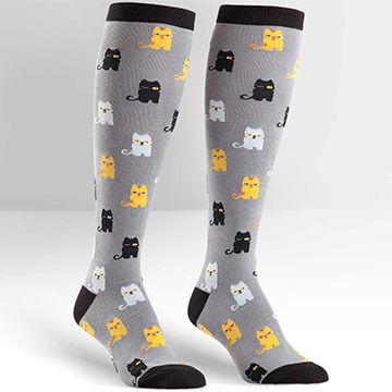 Sock It To Me Womens Winking Cat Sock