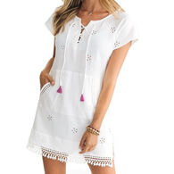 Southern Tide Women's Aimee Short-Sleeve Tunic Cover Up