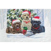 Pumpernickel Press Lab Pup Trio Deluxe Boxed Greeting Cards