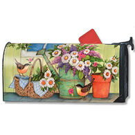 MailWraps Front Porch Flowers Mailbox Cover
