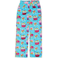 Candy Pink Girls' Crazy Cupcakes Fleece Pant