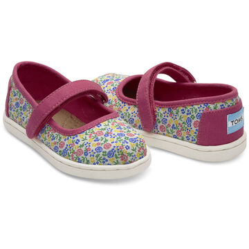TOMS Toddler Girls Tiny Mary Jane Shoe