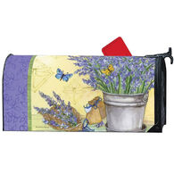 MailWraps Lavender Magnetic Mailbox Cover