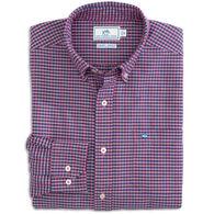 Southern Tide Men's Channel Marker Gingham Sport Long-Sleeve Shirt