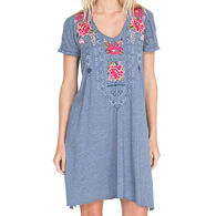 Johnny Was Women's Davis Drape Tunic Dress