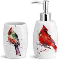 Big Sky Carvers Cardinal Bathroom Accessories - 2 Piece