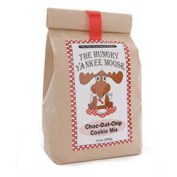 Hungry Yankee Moose Chocolate-Oat-Chip Cookie Mix, 13 oz.