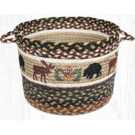 Capitol Earth Bear and Moose Utility Basket