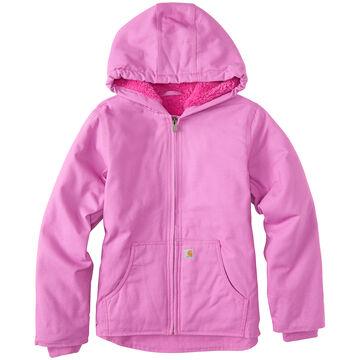 Carhartt Girls Redwood Sherpa-Lined Jacket