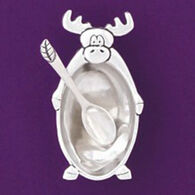 Basic Spirit Moose Salt Cellar With Spoon