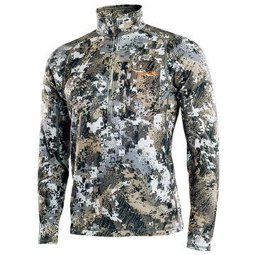Sitka Gear Mens Core Midweight Zip-T Long-Sleeve Shirt