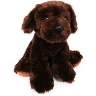 "Aurora Chocolate Lab 14"" Plush Stuffed Animal"