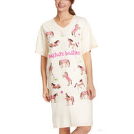 Hatley Little Blue House Women's Pasture Bedtime Sleepshirt