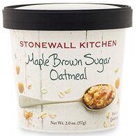 Stonewall Kitchen Single Serve Maple Brown Sugar Oatmeal, 2 oz