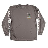 Salty Crew Men's Tailed Rashguard Long-Sleeve Shirt