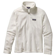 Patagonia Women's Micro D 1/4-Zip Fleece Pullover Top