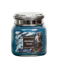 Village Candle Petite Glass Jar Candle - Mermaid Tales