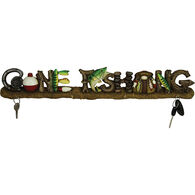 Rivers Edge Gone Fishing Key Rack