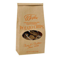 Asher's Chocolates Milk Chocolate Smothered Potato Chips, 7.5 oz.