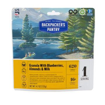 Backpackers Pantry Granola w/ Milk & Blueberries - 1 Serving