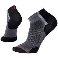 SmartWool Men's PhD Run Ultra Light Pattern Low Cut Sock - Special Purchase