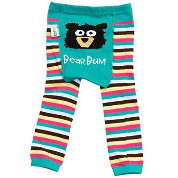 Lazy One Infant/Toddler Boys' & Girls' Bear Bum Legging