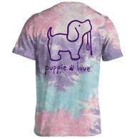 Puppie Love Women's Cotton Candy Pup Short-Sleeve T-Shirt