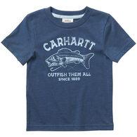 Carhartt Toddler Boy's Heather Graphic Short-Sleeve T-Shirt