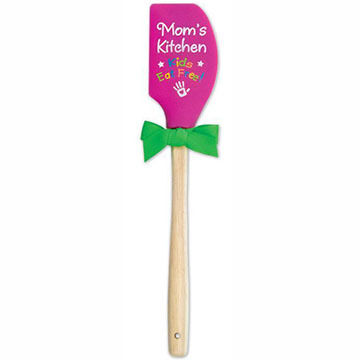 Brownlow Publishing Mom's Kitchen Silicone Spatula