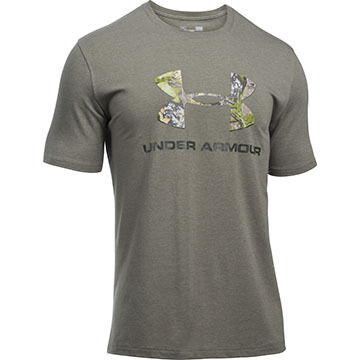 Under Armour Mens UA Camo Fill Logo Short-Sleeve T-Shirt