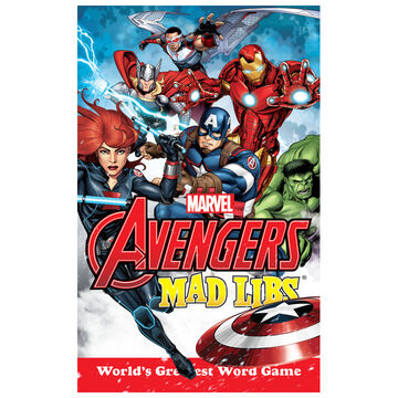 Marvels Avengers Mad Libs by Paul Kupperberg