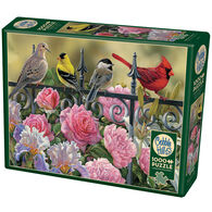 Outset Media Jigsaw Puzzle - Birds on a Fence