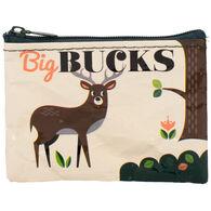 Blue Q Women's Big Bucks Coin Purse