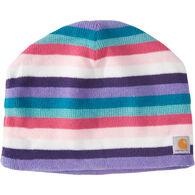 Carhartt Girl's Multi Stripe Fleece-Lined Hat