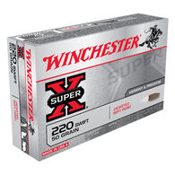 Winchester Super-X 220 Swift 50 Grain Pointed Soft Point Rifle Ammo (20)