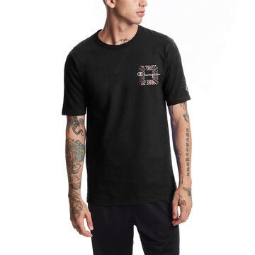 Champion Mens Heritage ITALM Square Logo Short-Sleeve T-Shirt