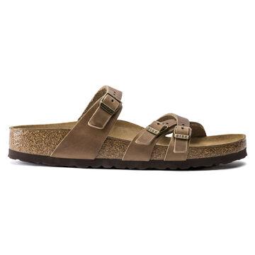 Birkenstock Womens Franca Oiled Leather Sandal