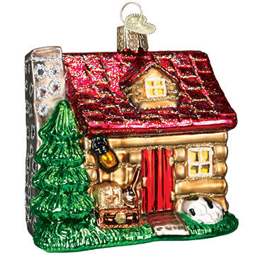 Old World Christmas Lake Cabin Ornament