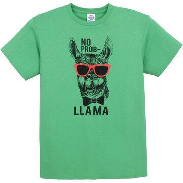 Pacific Art Mens No Prob Llama Short-Sleeve T-Shirt