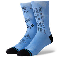 Stance Men's Dr. Seuss Some Have Two Crew Sock