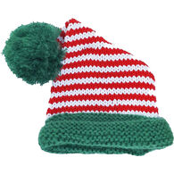 Huggalugs Infant/Toddler Candy Cane Stocking Hat