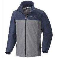 Columbia Boys' Dotswarm Full Zip Fleece Jacket