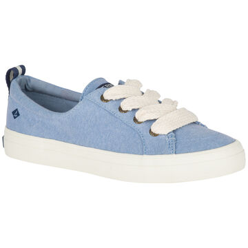 Sperry Womens Crest Vibe Chubby Lace Sneaker