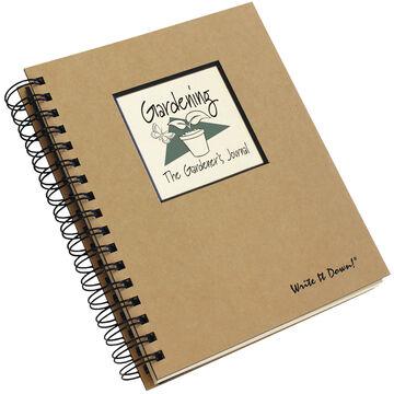 Journals Unlimited Write it Down! Gardening Journal