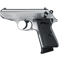 """Walther PPK/S 22 Nickel 22 LR 3.3"""" 10-Round Pistol"""
